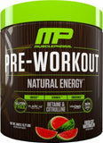 MusclePharm Natural Pre-Workout (30 Serve) | JackedScholar Supplements Canada
