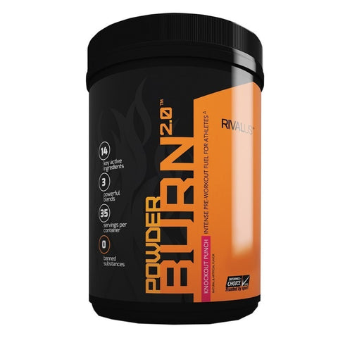 RIVALUS Powder Burn 2.0 (35 servings)* | JackedScholar Supplements Canada