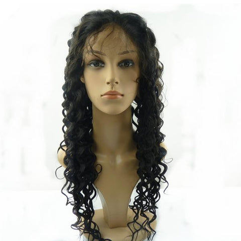 Brazilian Full Lace Wig Deep Wave
