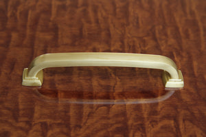Torun Pull - Satin Brass 128mm