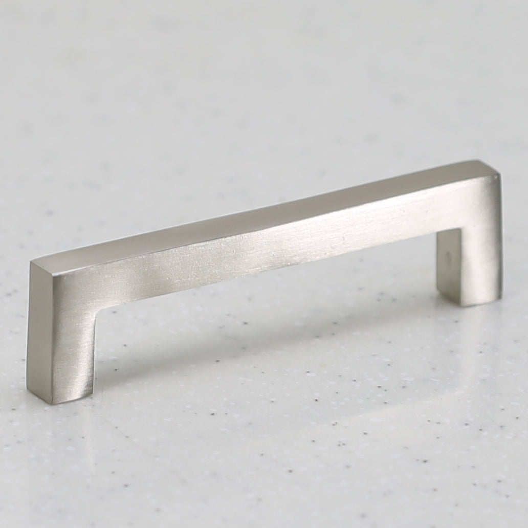 Ventoux Pull - Aluminium Satin Nickel - C/C 96mm