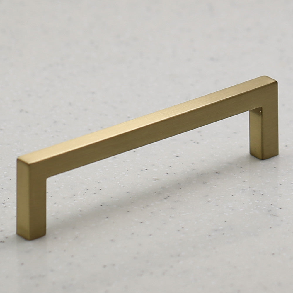 Ventoux Pull - Satin Brass - C/C 128mm