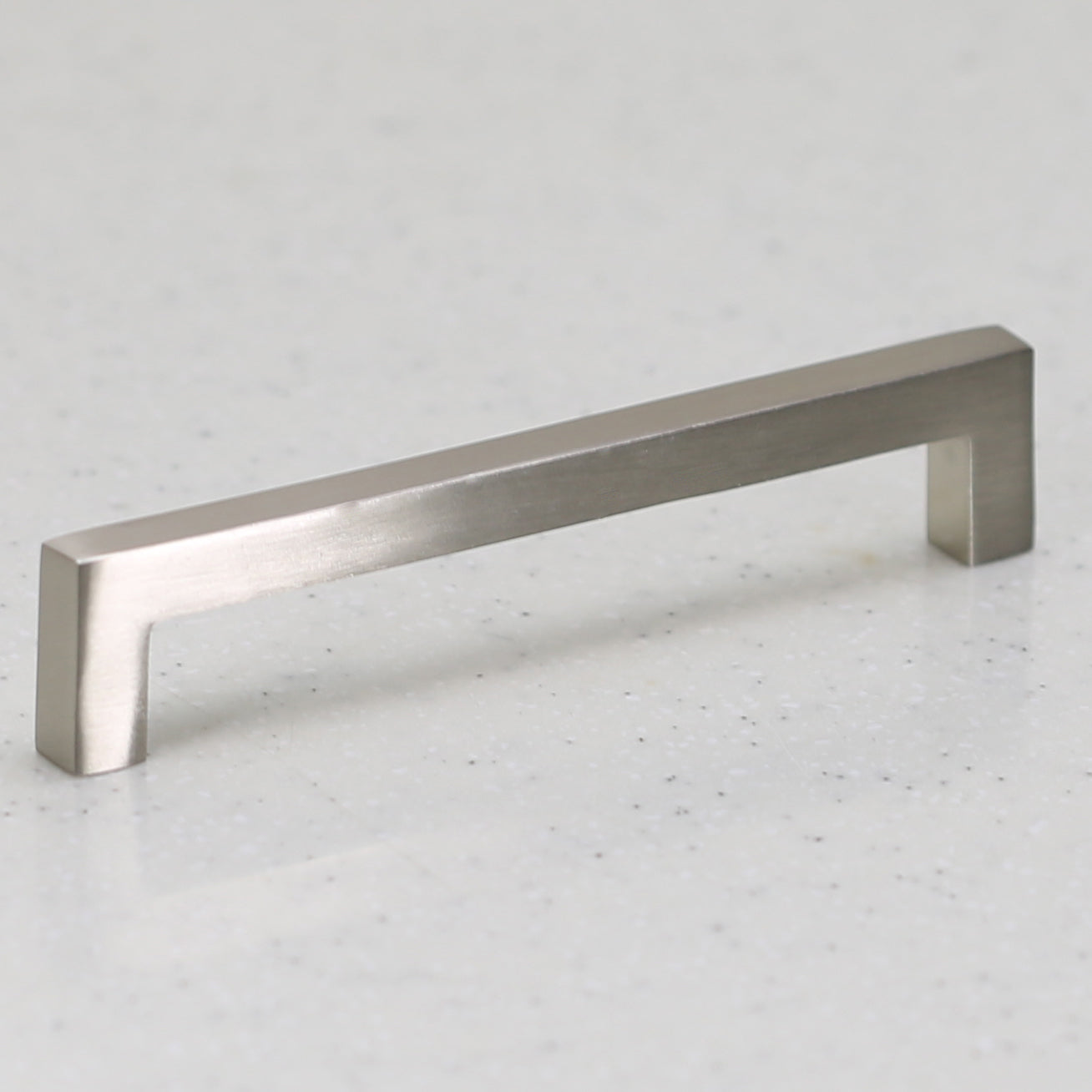 Ventoux Pull - Aluminium Satin Nickel - C/C 128mm
