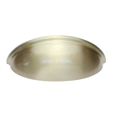 "Satin Brass 3"" Cup Pull"