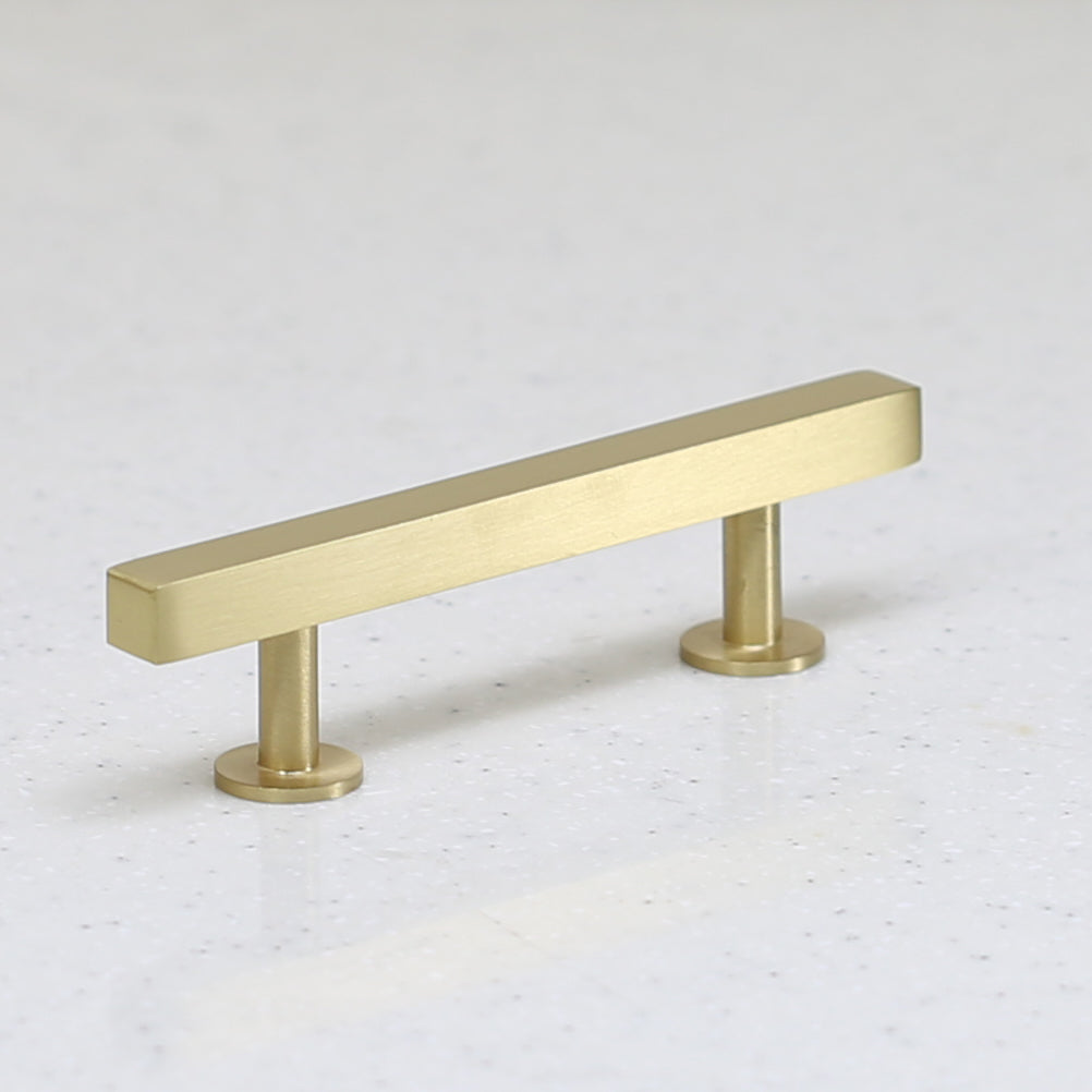 "The Vouvant Collection Pull - 3"" Center to Center - Satin Brass - Handle Pull Decorative Hardware"