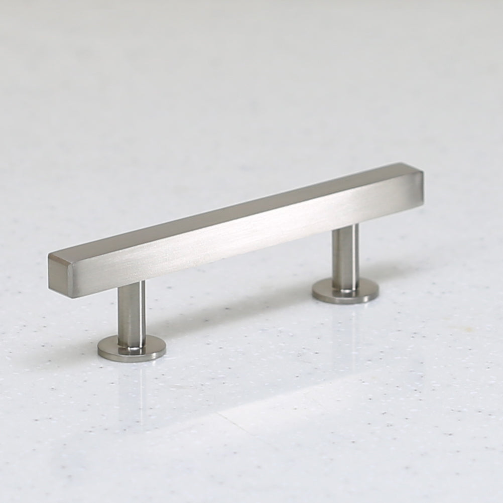 "The Vouvant Collection Pull - 3"" Center to Center - Satin Nickel - Handle Pull Decorative Hardware"