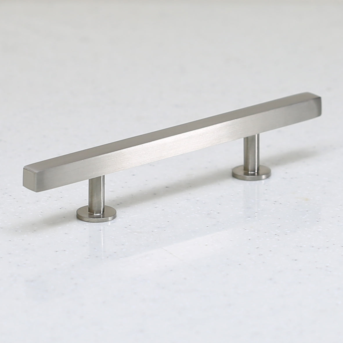 "The Vouvant Collection Pull - 96mm Center to Center (3-3/4"") - Satin Nickel - Handle Pull Decorative Hardware"