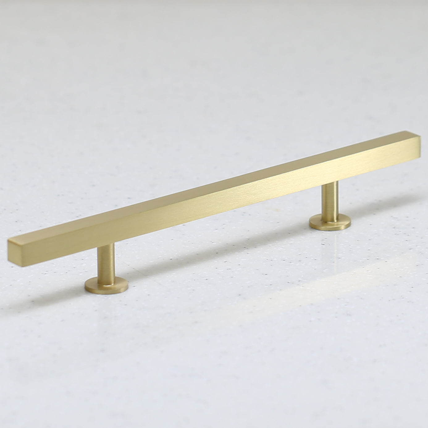 "The Vouvant Collection Pull - 128mm Center to Center (5"") - Satin Brass - Handle Pull Decorative Hardware"