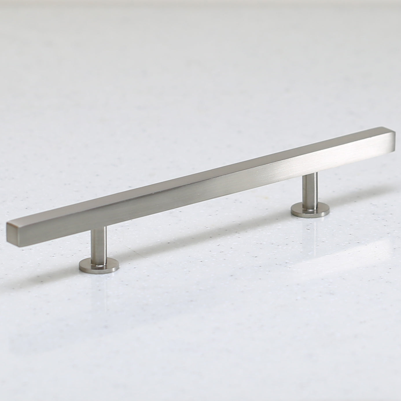 "The Vouvant Collection Pull - 128mm Center to Center (5"") - Satin Nickel - Handle Pull Decorative Hardware"
