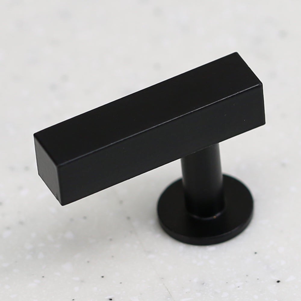 "The Vouvant Collection Knob - 1-3/4"" Face - Matte Black - Handle Knob Decorative Hardware"