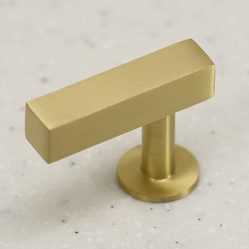 "The Vouvant Collection Knob - 1-3/4"" Face - Satin Brass - Handle Knob Decorative Hardware"