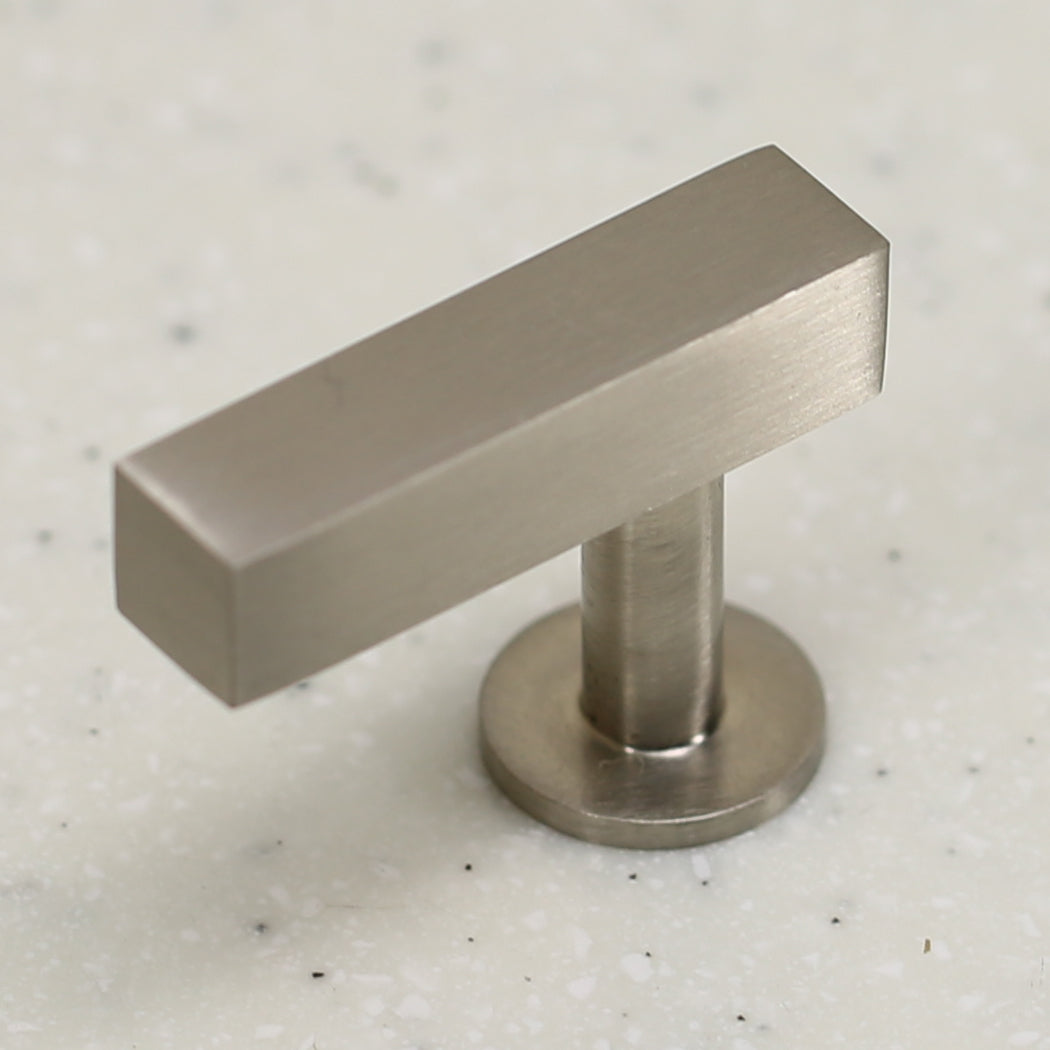 "The Vouvant Collection Knob - 1-3/4"" Face - Satin Nickel - Handle Pull Decorative Hardware"