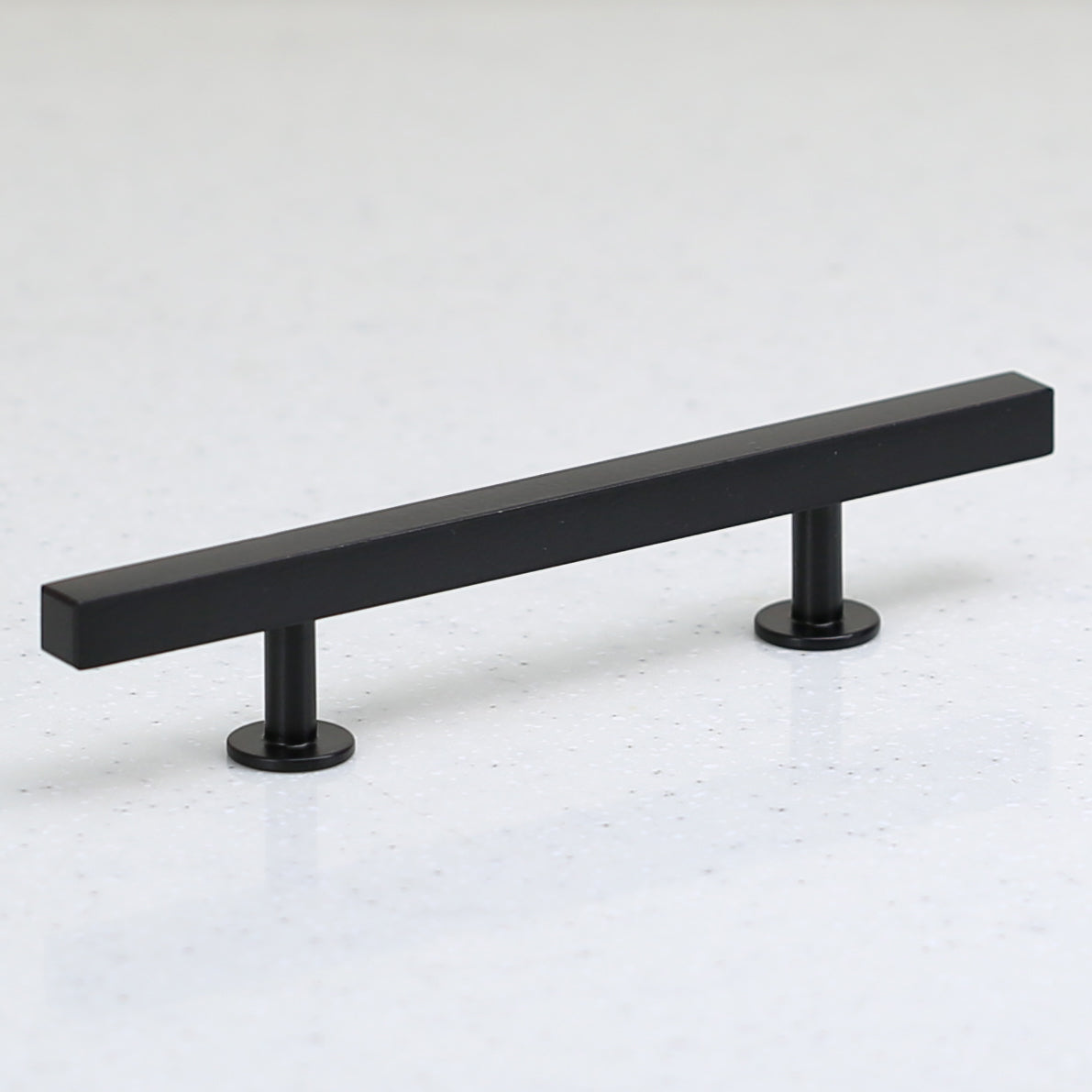 "The Vouvant Collection Pull - 96mm Center to Center (3-3/4"") - Matte Black - Handle Pull Decorative Hardware"