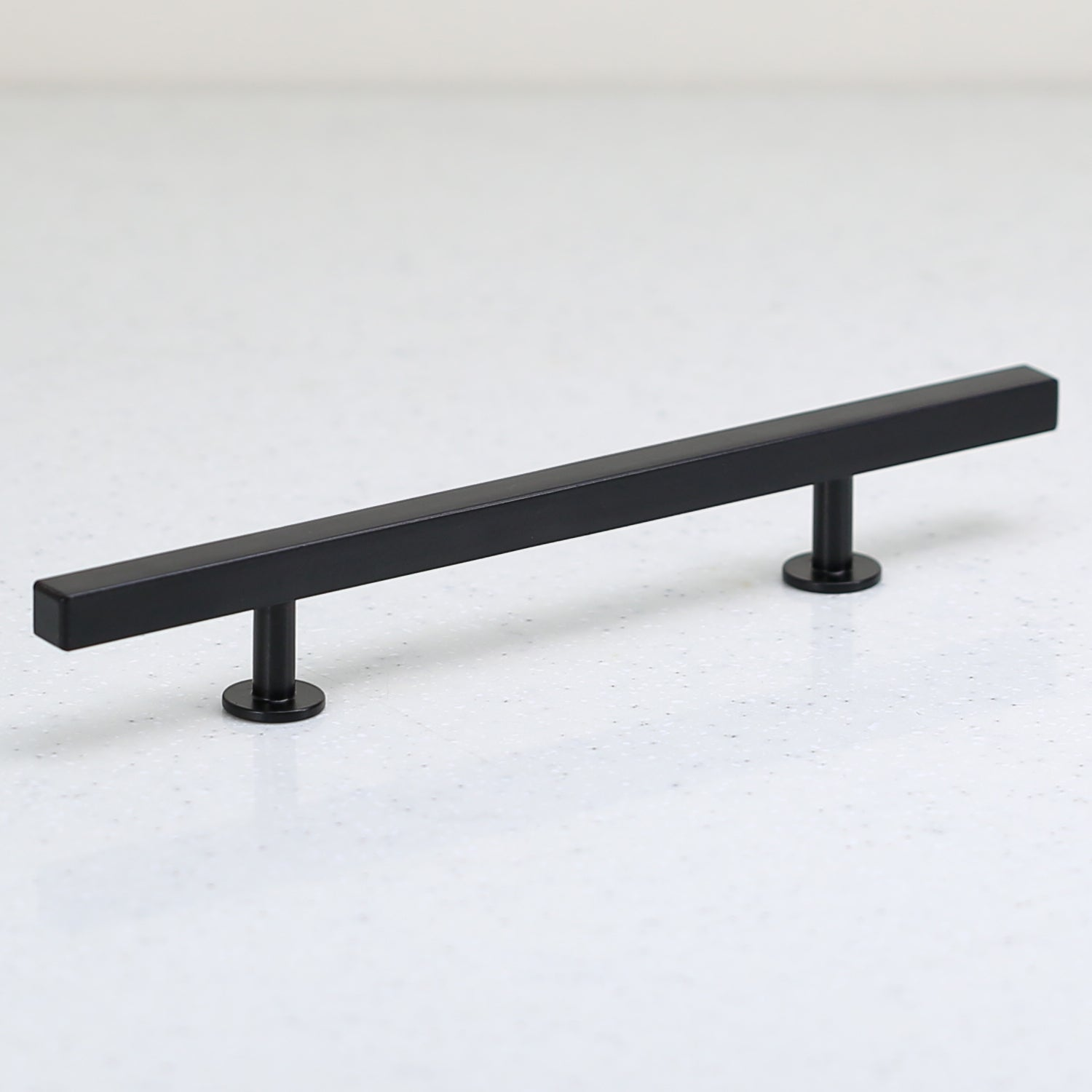 "The Vouvant Collection Pull - 128mm Center to Center (5"") - Matte Black - Handle Pull Decorative Hardware"