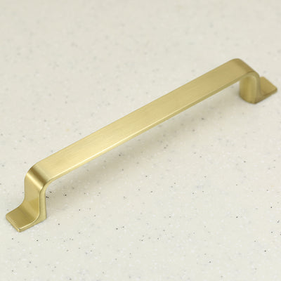 Porter Collection Pull - Satin Brass - C/C 160mm