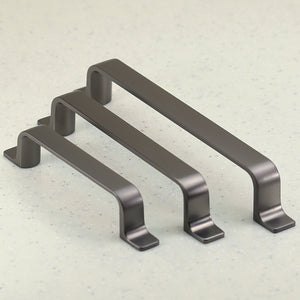 Porter Collection Pull - Graphite - C/C 128mm