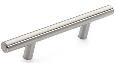 "Euro Style Bar Handle Pull - 3"" Hole Centers, 5-3/4"""" Overall Length"