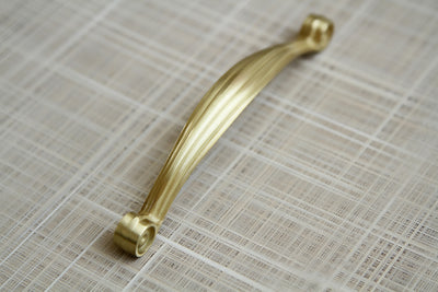 Hallstatt - Satin Brass - 128mm