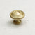 "Satin Brass 1-1/4"" Circles Knob"