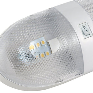 RV Ceiling Double Dome Light - LED - 12 volt - Interior