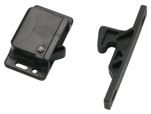 RV Black Push Latch - Decorite 5838
