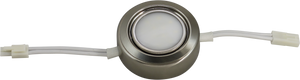 Puck Satin Nickel Metal