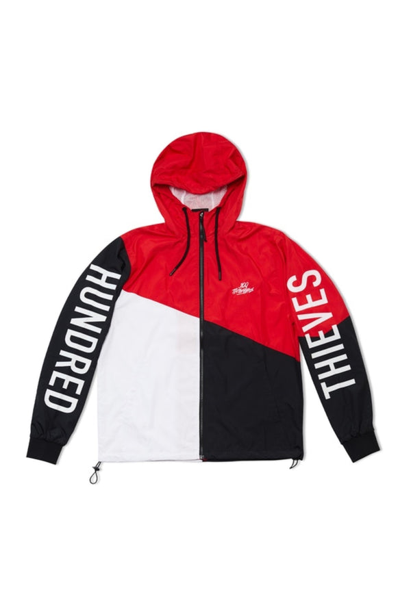 100 Thieves Tri-color Zip Windbreaker Multi
