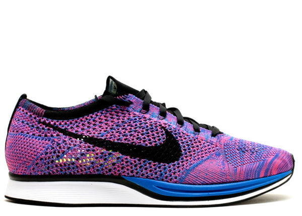 NIKE FLYKNIT RACER GAME ROYAL (2014) - 526628-400