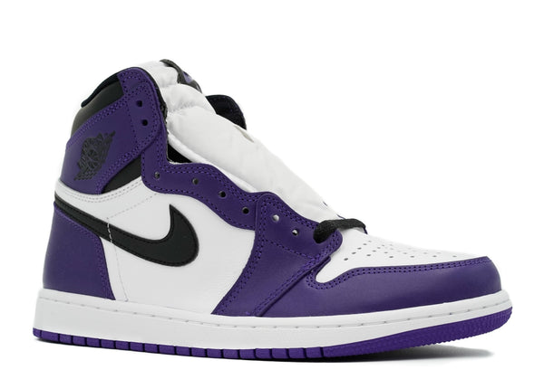 AIR JORDAN 1 HIGH OG 'COURT PURPLE' - 555088-500