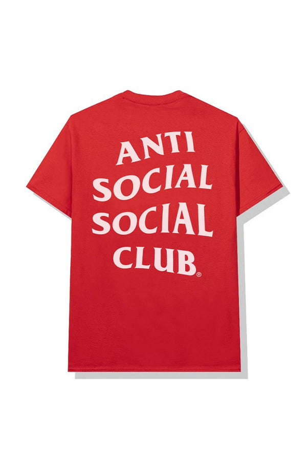 Anti Social Social Club Add Me Tee Red