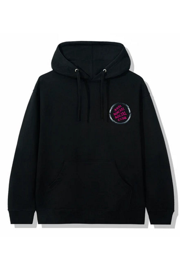 Anti Social Social Club Brake Check Hoodie Black