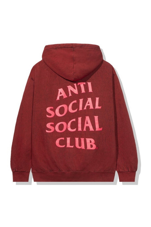 Anti Social Social Club Don't Hoodie Red