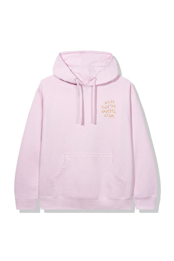 Anti Social Social Club Sweeter Then You Think Hoodie Pink