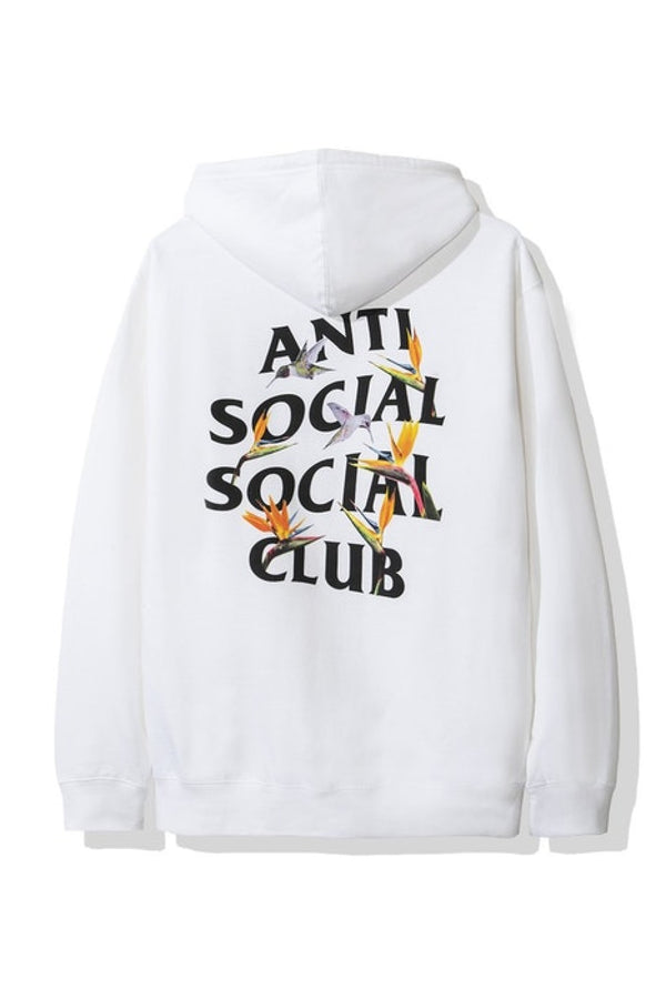 Anti Social Social Club Pair Of Dice Hoodie (FW19) White