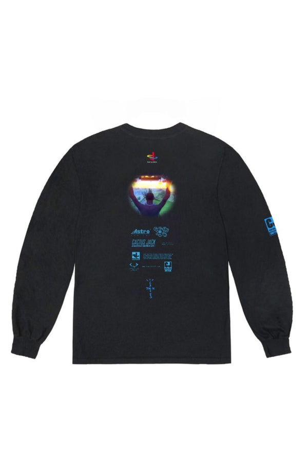 Travis Scott The Scotts Cj Portal L/S Tee Black