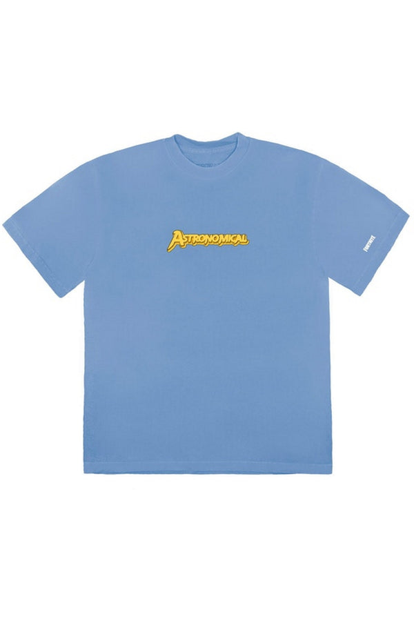 Travis Scott The Scotts Astro Goosebumps T-Shirt Blue