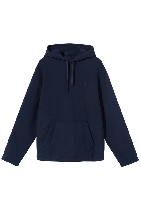 Stussy x No Vacancy Inn Fleece Hoodie Navy