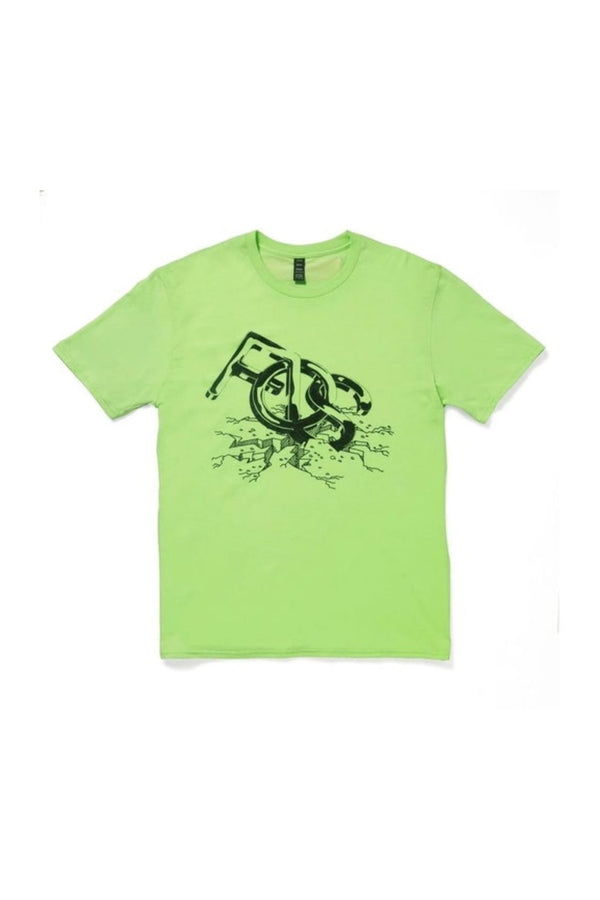 Virgil Abloh x MCA Figures of Speech FOS Tee Green