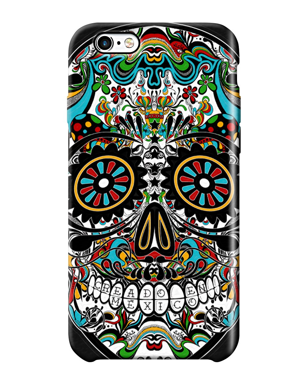 Carcasa iPhone - Calavera Colors