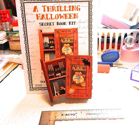 Halloween Secret Book by Peggy Long