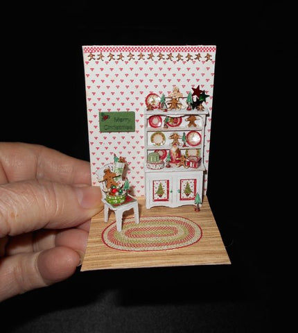 Merry & Bright Vignette by Peggy Long