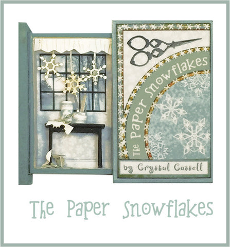 Teeny Weeny Secret Book - THE PAPER SNOWFLAKES
