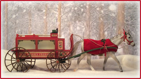 "1"" Merry Peddler Wagon Kit"