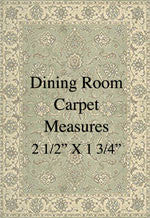 "1/4"" Dining Room Carpet"