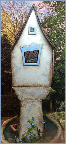 "The Wonkies - 1/4"" Forget-Me-Not House"