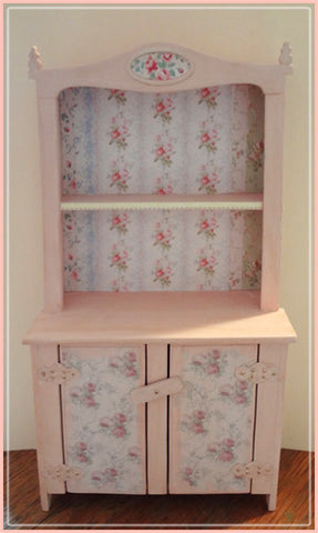 "1"" Easter Altered Cabinet"
