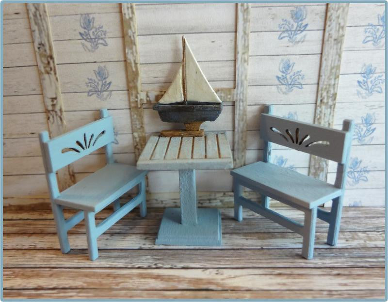 Table, Benches & Pond Boat Kit