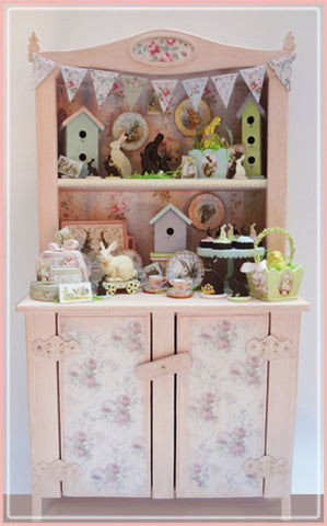 "1"" COMPLETE - Easter Cabinet"