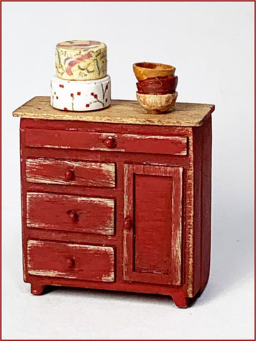 CRANBERRY COTTAGE - PANTRY CUPBOARD
