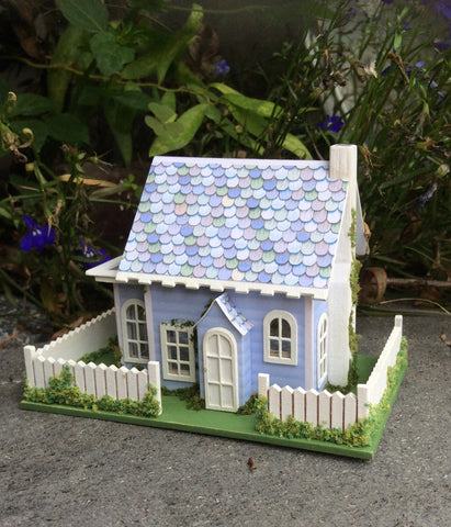Watercolors - Blue Sky Cafe House Kit